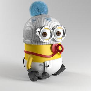 3d max minion cute