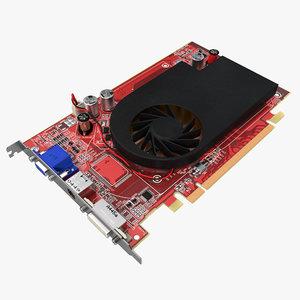 graphics card 2 3d model
