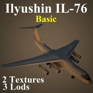 ilyushin basic 3d max