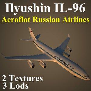3d model ilyushin afl