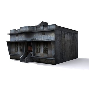 3d local indian house model
