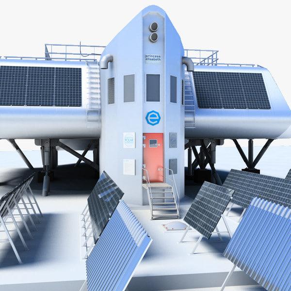 princess elisabeth antarctic station 3ds