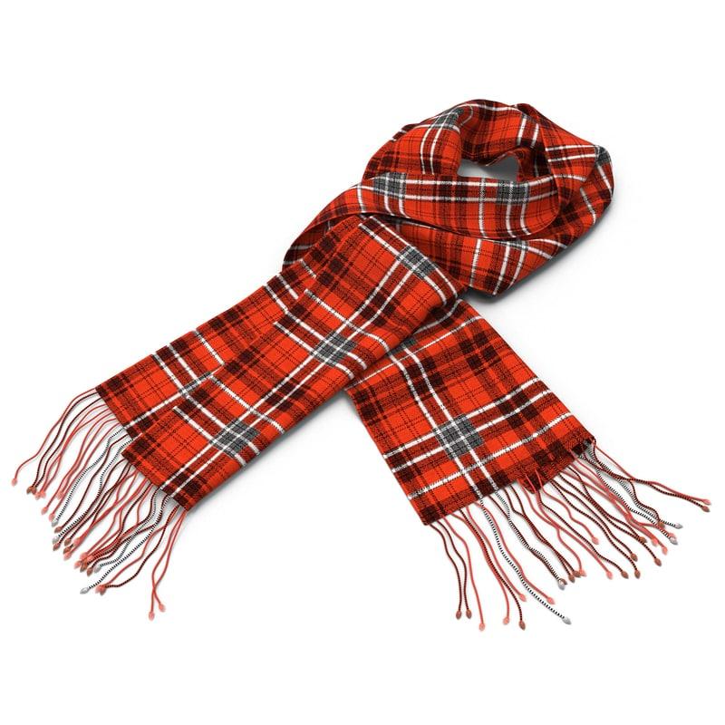 scarf 3d 3ds