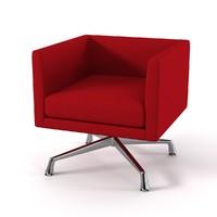 swivel chair 3d 3ds