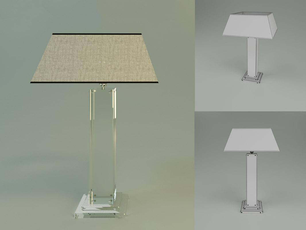lamp mirror x