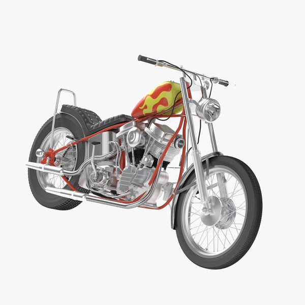 3d billy bike model