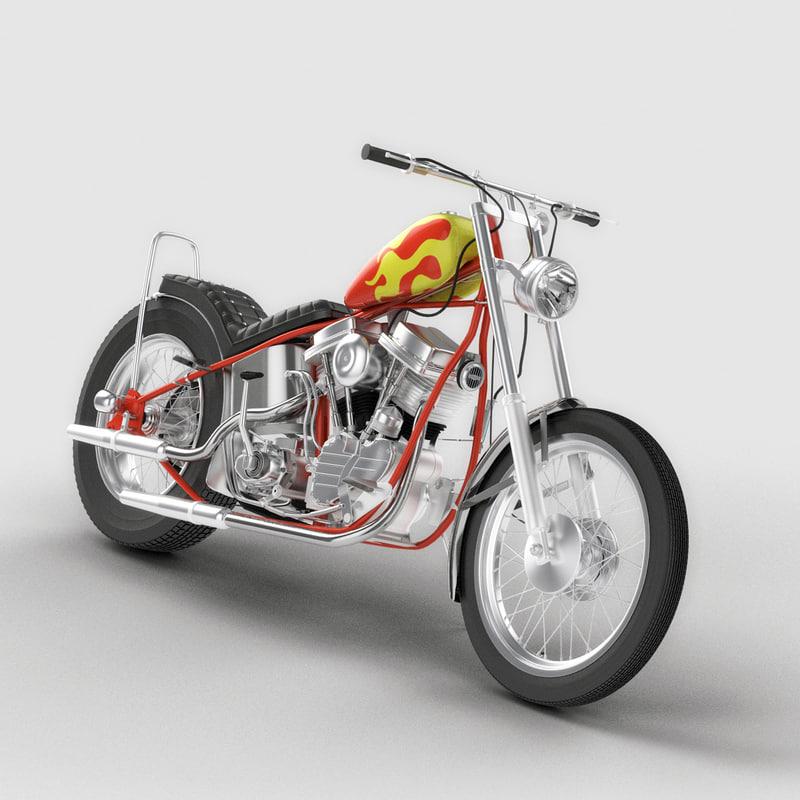 3d billy bike model