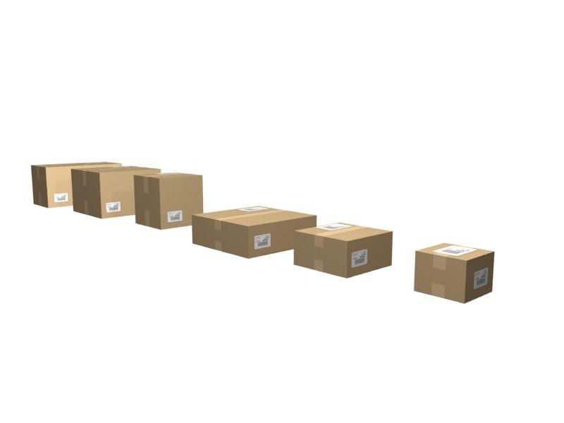 3d 6 boxes