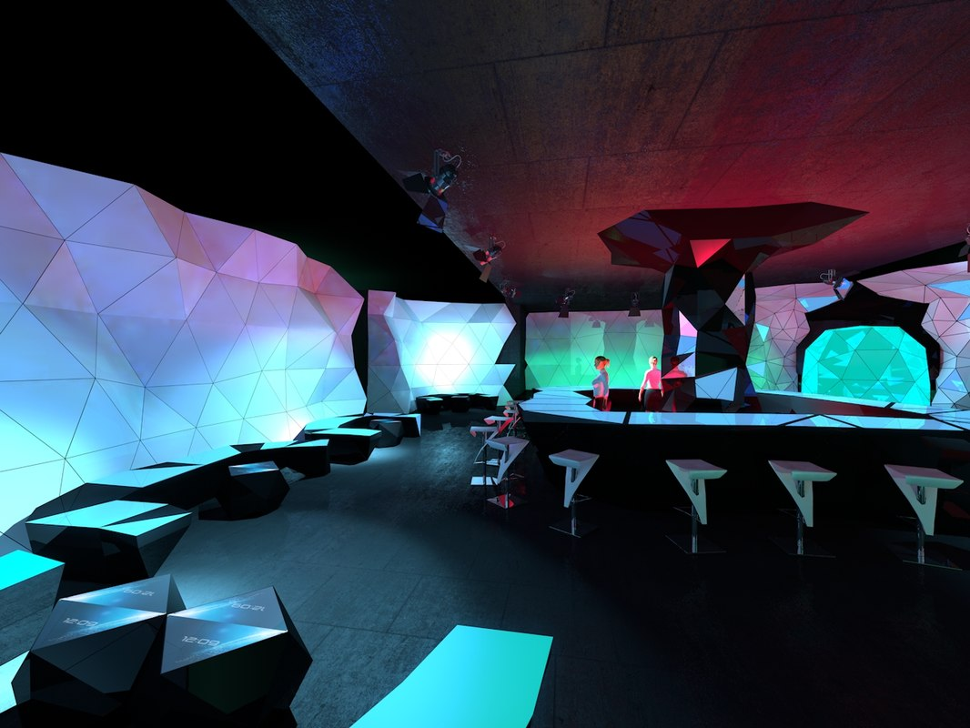night club c4d