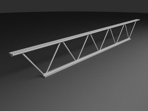 supporting truss 3d model