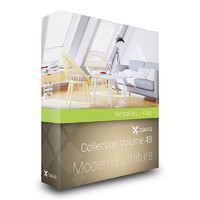 CGAxis Models Volume 48 Modern Furniture MentalRay