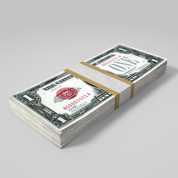 3ds max dollar bill wad