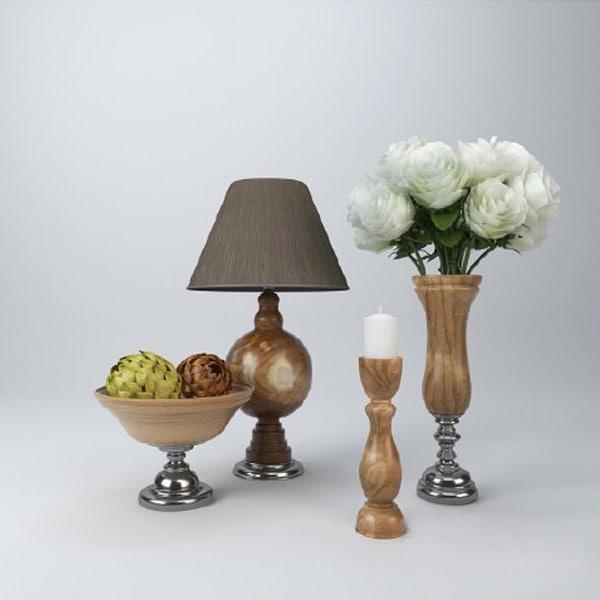 flower vase 3ds