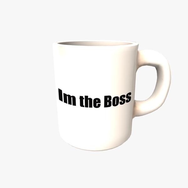 coffea mug boss 3d 3ds