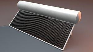 solar water heater dxf