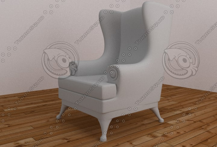 3d armchair living rooms