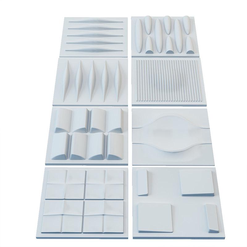 3dsmax panel set