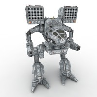 Army Mech Warrior Robot V3
