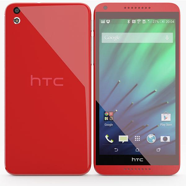 3d model htc desire 816