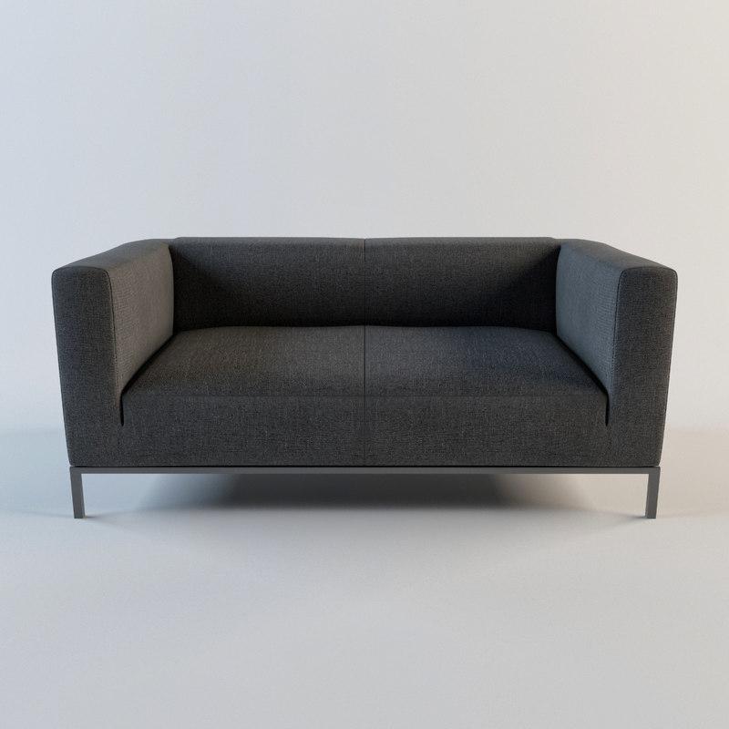 3d model of - sofa