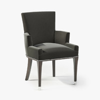 3d model ralph brook street dining chair