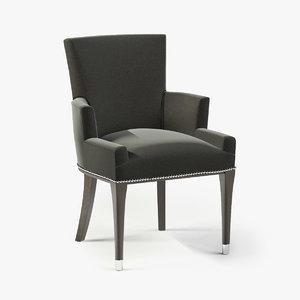 3d model ralph brook street dining chair