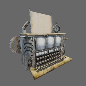 old typewriter max