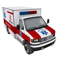 3dsmax ambulance