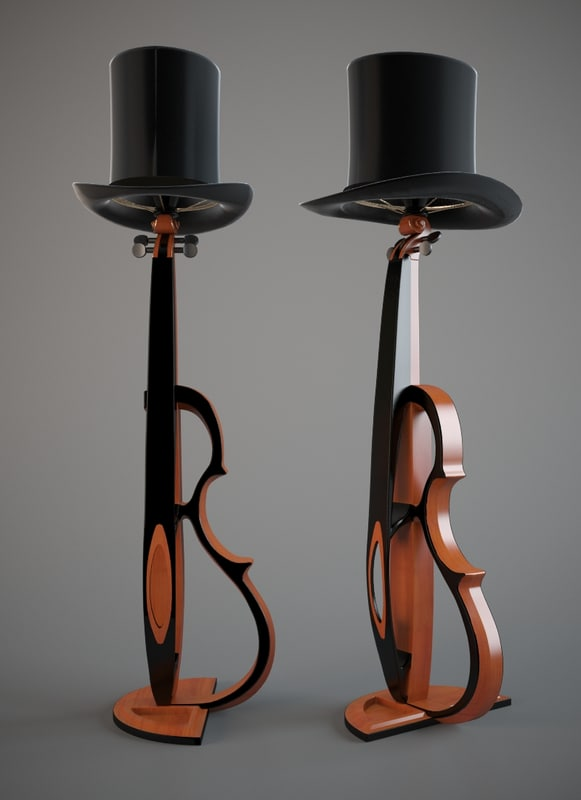 3d lamp light model