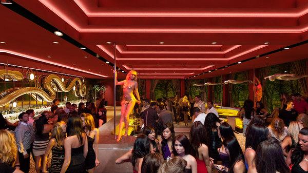3d nightclub bar