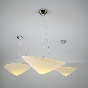 3d model - cao mao pendant lamp