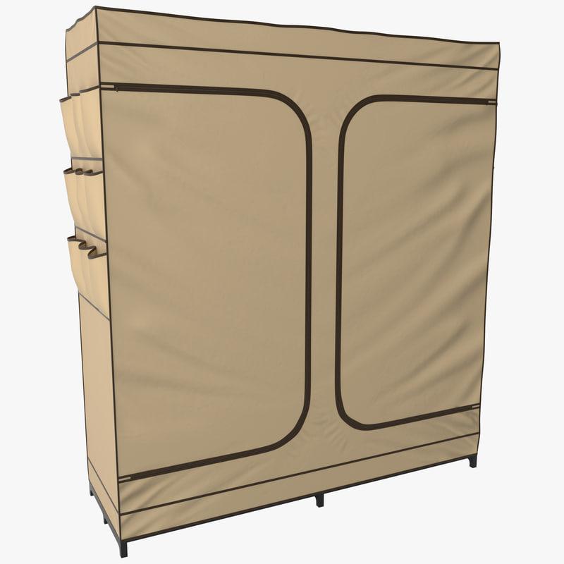max double door portable closet
