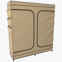 max double door portable closet