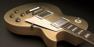 3ds max guitar les paul