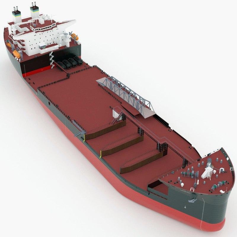 3d model usns montford point core