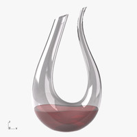3d riedel amadeo wine decanter model