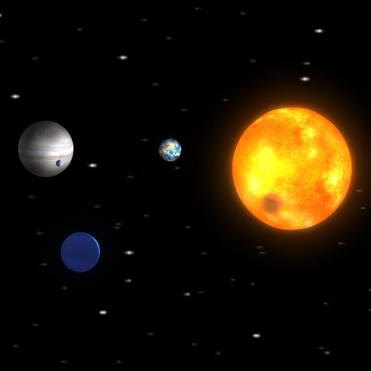 solar 3d obj