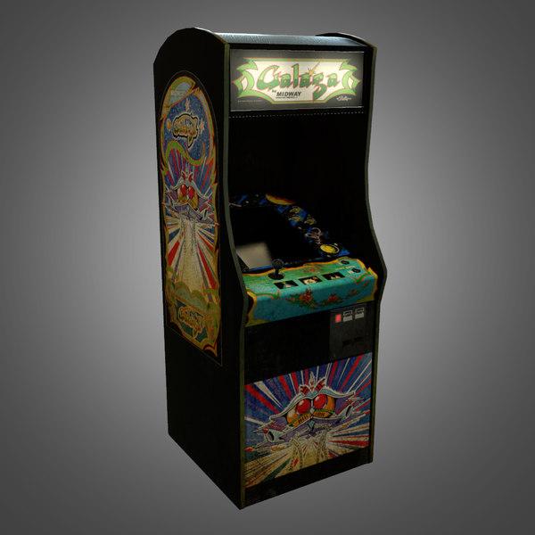 arcade machine obj