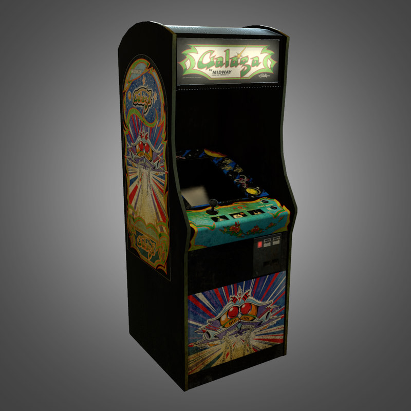 arcade machine obj