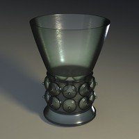glass chalice 3d model