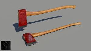 maya axes weapon