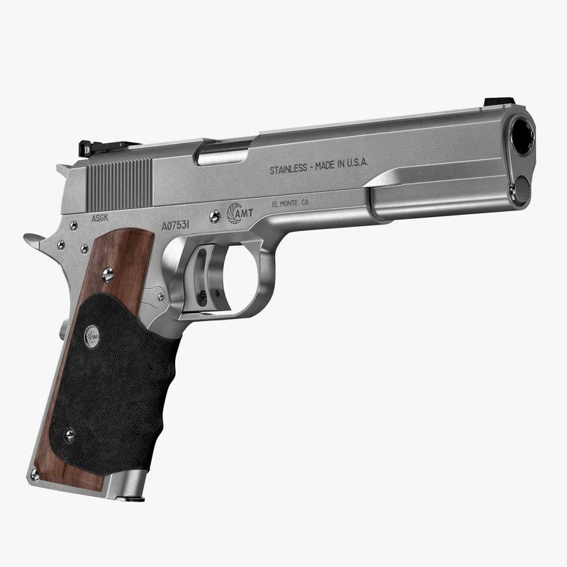 45 pistol amt hardballer max