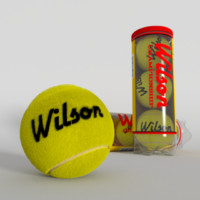 great tennis balls container 3d model