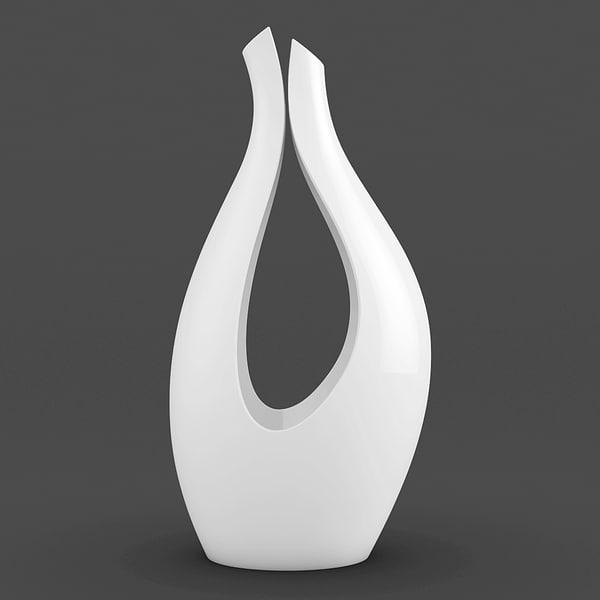 3d model modern vase