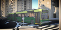 3d model man bus