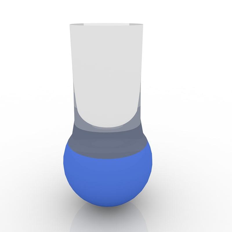3d florence flask model