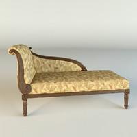 3d model sofa seven sedie