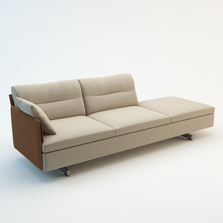 3d model grantorino sofa