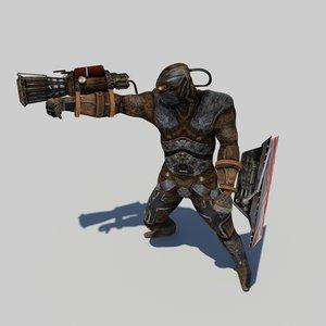 golem character 3d model