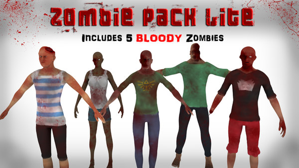 zombies pack 3d 3ds